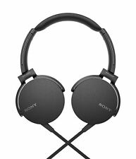 Sony MDR-XB550AP Black Extra Bass On-Ear Wired Headphones - Refurbished NO BOX