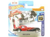 Hotwheels Cruella De Vil HW Screen Time 343/365 Short Card 1 64 Scale Sealed New