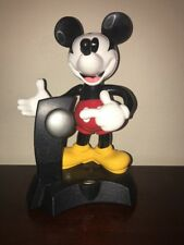 Disney Animated Talking Mickey Mouse Cordless Telephone Telemania Works