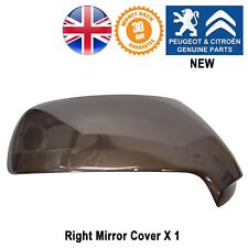 Peugeot 3008 MK 1 Wing Mirror Cover Cap Right Driver Side Genuine NEW 8152h1