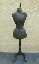"""Mannequin de couture ancien """"Taille de Guêpe"""" Napoléon III"""
