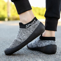 Mens Sneakers Outdoor Socks Running Shoes Breathable Non Slip Casual Gym Cycling