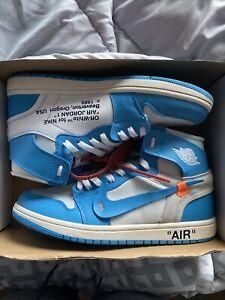 "Off White Jordan 1 ""UNC"" Size 11"