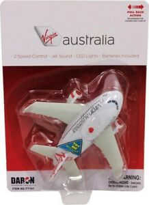 NEW Virgin Australia Pullback With Lights & Sounds from Mr Toys