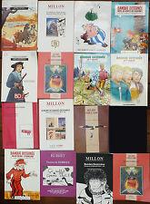 Lot de 15 catalogues Planches originales BD Bande dessinée Moebius Tardi
