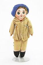 Antique German Rare Mask Face Googly Eye Doll ca1910