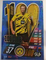 2020/21 Match Attax UEFA Champions League - Erling Haaland 100 Club Dortmund