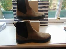 dres van noton brown suede boots size 42- brand new - cost £300