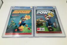 Nintendo power magazine graded first and last issue  5.0 and 8.0 condition