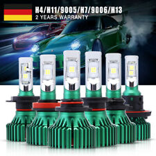 NOVSIGHT 60W H4/H7/9005/9006 CREE LED Autoscheinwerfer Birnen Leuchte Lampen DE