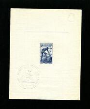 French West Africa 1947 Food Palm Oil Scott 48 Early  Sunken Die Proof w/Seal