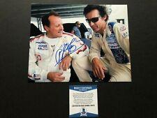Richard Petty AJ Foyt Rare! signed autographed racing 8x10 photo Beckett BAS coa