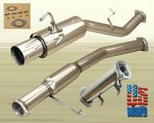for 89-94 Nissan 240sx S13 Silvia Stainless High Flow Cat Exhaust Catback System
