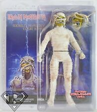 "MUMMY EDDIE Closed Mouth Iron Maiden Retro Style 8"" Scale Music Figure Neca 2014"