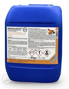10kg Rhodasept Stalldesinfektionsmittel / Geflügelställe / Volieren avi-complete