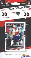 New England Patriots 2020 Donruss NFL Limited Team Set-Julian Edelman,4 ROOKES+