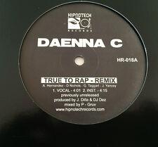 J Dilla Vinyl  JAYDEE -Da Enna C -TrueTo Rap (Remix)12 inch EP (1994) 1st. ed.