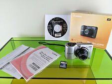 Canon PowerShot A1300 HD 16MP 5x Zoom Digital Camera SILVER 4GB SD Card Bundle