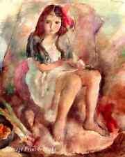 Cinderella by Jules Pascin Art Sad Little Girl Children Story 8x10 Print 355