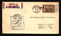 Canada 1929 FFC - Ft McMurray to Ft Providence - Z16666