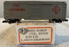 Con Cor N Scale 40' Steel Boxcar Erie Lackawanna #90138 Item #1001R