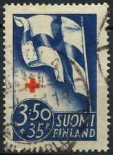 Finland 1941 SG#346, 3m50 + 35p Red Cross Fund Used #D96834