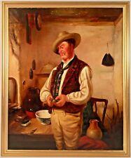Listed Royal Academy Artist Erskine Nicol (1825-1904) Oil Painting On Canvas