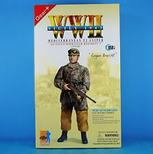 DRAGON 1:6 FIGURE WW2 GERMAN 98K MP-739 Mediterranean SNIPER PARATROOPER 70357