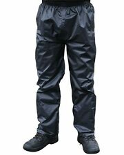 Mens Castle Waterproof Trousers Walking Pants Work Wear S-XXL In NAVY & OLIVE