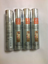 4 X Trial Size Sally Hansen Airbrush Makeup Foundation NATURAL BEIGE SPICE NEW.