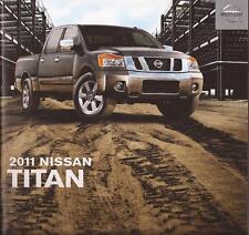 2011 11 Nissan  Titan original sales brochure Mint