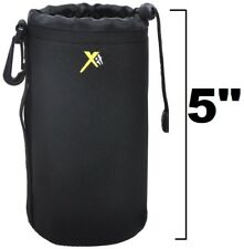 SUPER Neoprene Camera Bag Protector Pouch Case for Canon EF 75-300mm III USM