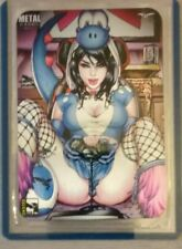 Rare Zenescope Metal Card, LE 25 SDCC 2019 - Grimm V2 #26 H, Cover Art by eBas