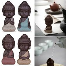 Mini Small Buddha Statue Monk Figurine Tathagata India Yoga Mandala Sculpture
