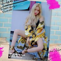 CHUNGHA: FLOURISHING* 4th Mini Album CD+Booklet+Post Card+Poster (CD, MNH) K-POP