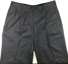 Tweeds Unhemmed Trouser Pants For Men's 36 Blue NWT 100%Wool
