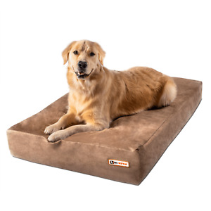 Big Barker Orthopedic Dog Bed: Sleek Edition. For Large and XL Dogs.