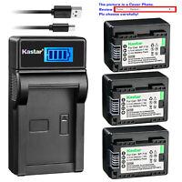 Kastar Battery LCD USB Charger for Canon BP-718 Canon VIXIA HF R72 HFR72 Camera