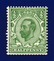 1912 SG335 ½d Green (Die-B, wmk SC) N3(1) MNH Cat £90 clib
