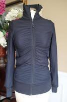 Lululemon Athletica Women's Black  Back Full Zip jacket Size S (ja300