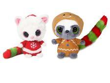 NWT 2pcs 5 Inch YooHoo & Friend Christmas Wanna be w/Sound