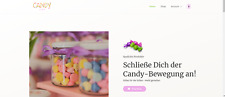Wordpress  Affiliate Webseite 🔸 Candy and More Shop 🔸 TRAFFIC ANLEITUNGEN