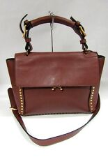 NEW MARNI TRUNK BAG BROWN MEDIUM LEATHER FLAP GOLD SHOULDER CROSSBODY