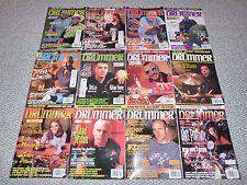 Modern Drummer Magazines 12 issues Jan. 1997 thru Dec. 1997