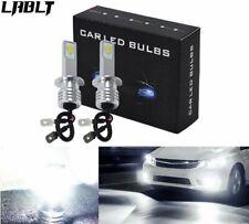 2x H1 6000K White Bright light LED Fog Light Bulbs Driving Lamp 35W 4000LM US