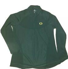 Nike University of Oregon Ducks 1/4 zip front shirt.