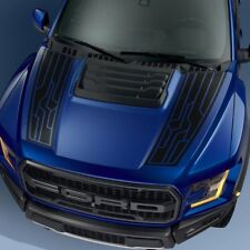 Ford F150 Raptor 2017-2018 hood graphics package kit decal sticker - 4