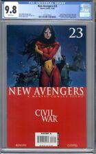 New Avengers #23   Civil War  Coipel Cover   1st Print CGC 9.8