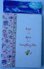 Baby Girl Announcements Sugar&Spice&Every thing Nice 10 in pkg American Greeting