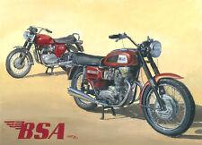 BSA Rocket 3 Spitfire British Rockers Motorbike Motorcycle Birthday Card